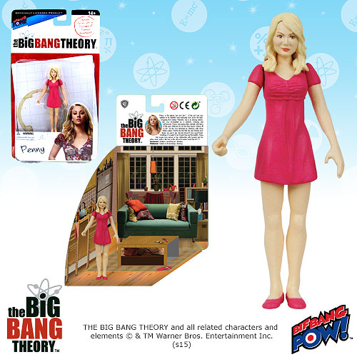 Big Bang Theory Penny 3 3/4-Inch Figure